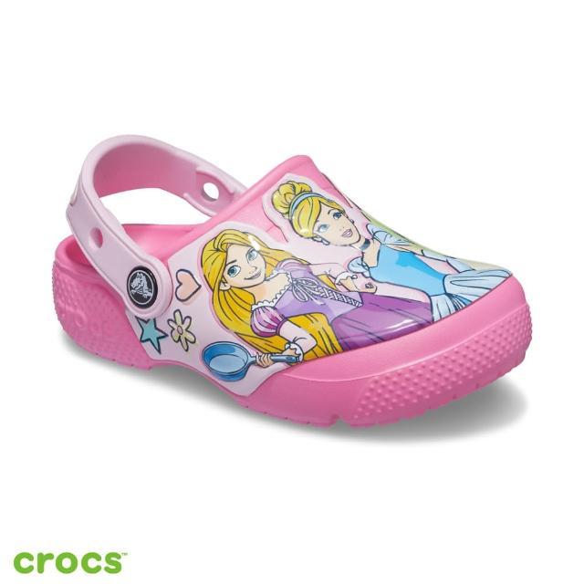 【Crocs】童鞋 卡駱班迪士尼公主小克駱格(207080-669)