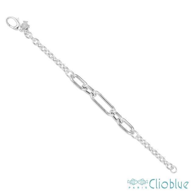 【CLIO BLUE】品味時尚手鍊(法國巴黎品牌/925純銀)