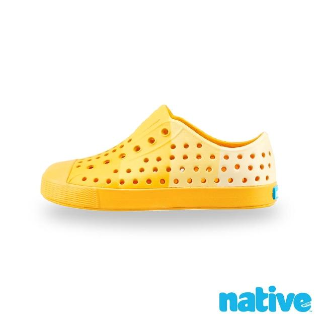 【native】大童鞋 JEFFERSON 小奶油頭鞋(以黃之名)
