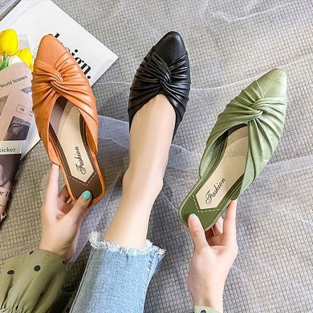 【K.W.】獨賣夏日漫遊穆勒懶人鞋-涼鞋/涼跟鞋/懶人鞋/穆勒鞋(共3色)