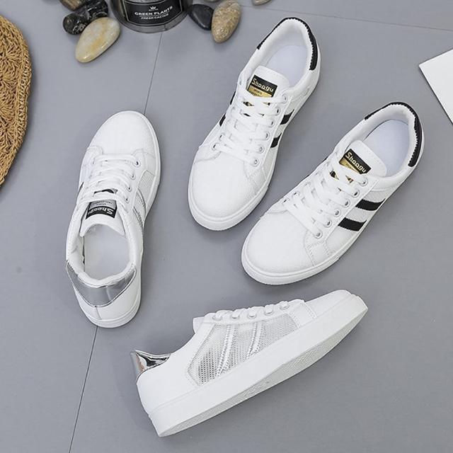 【K.W.】獨賣簡約時尚休閒鞋-輕量/運動鞋/休閒鞋(共2色)