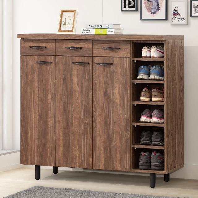 【MUNA 家居】米蘭4尺鞋櫃共兩色(鞋櫃 櫥櫃 收納)