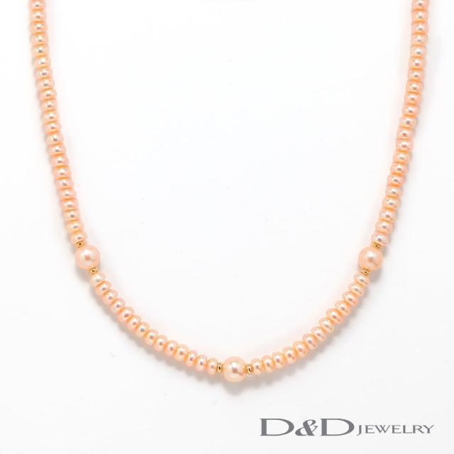 【D&D JEWELRY】日系優雅天然珍珠串鏈