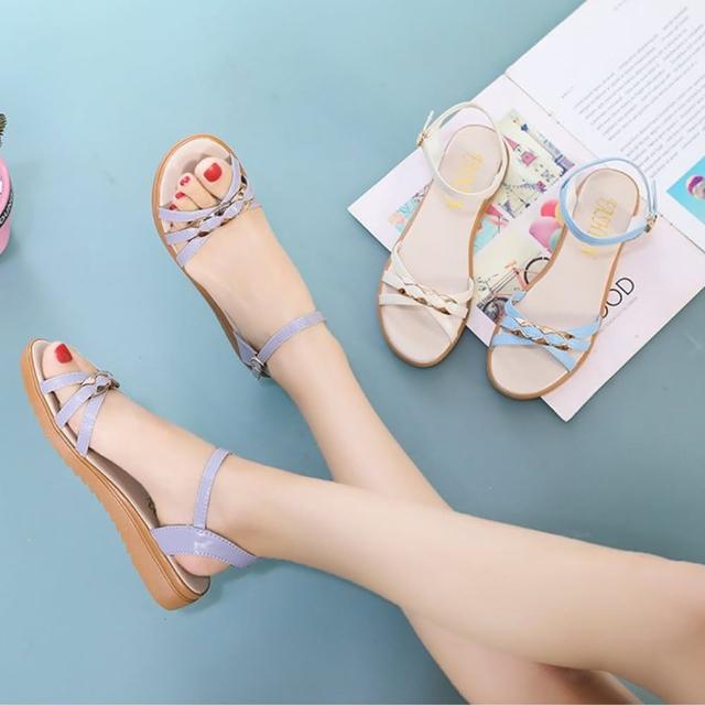 【K.W.】獨賣渡假氣息涼鞋-涼鞋/涼跟鞋(共3色)