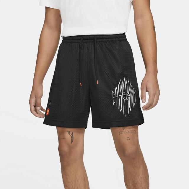 【NIKE 耐吉】短褲 男款 運動短褲 慢跑 籃球 AS KD M NK MESH SHORT 黑 CV2394-010