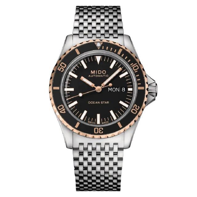 【MIDO 美度】OCEAN STAR TRIBUTE洋之星75週年特別腕錶/鋼帶款(M0268302105100/40.5mm)