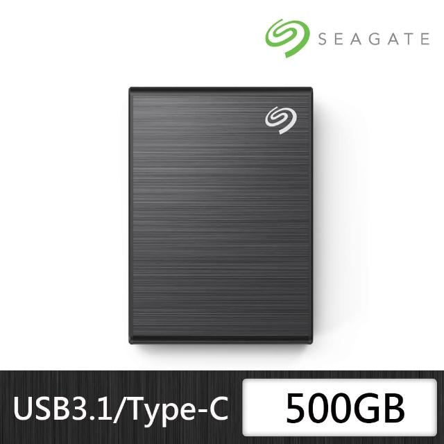 【SEAGATE 希捷】New One Touch SSD 500G 外接式固態硬碟
