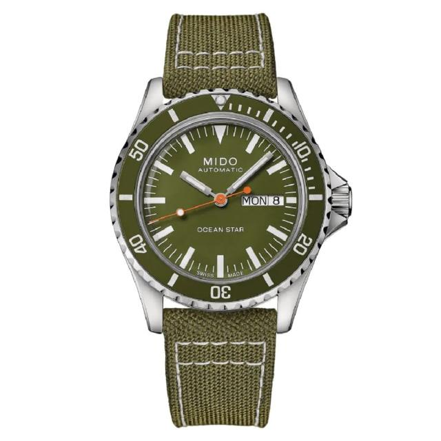 【MIDO 美度】OCEAN STAR TRIBUTE海洋之星75週年特別腕錶(M0268301809100/40.5mm)