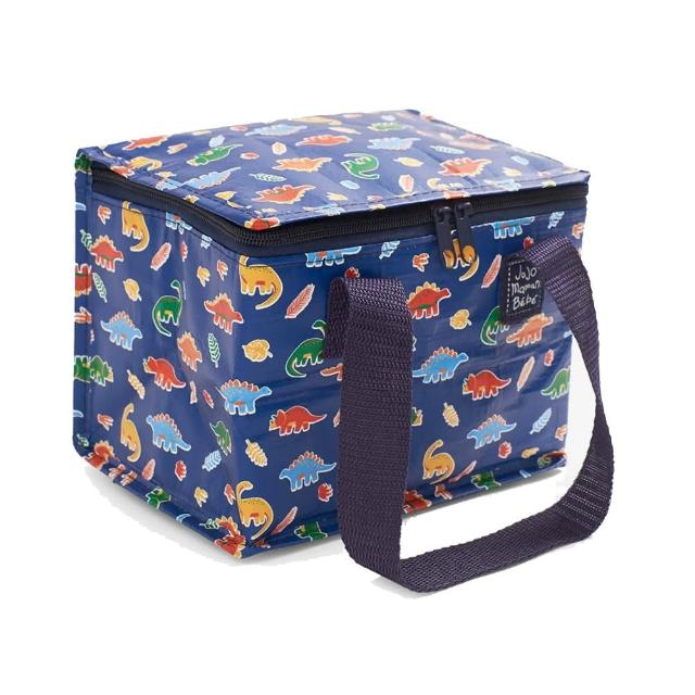 【JoJo Maman BeBe】防水多功能便當袋/食物袋/用品袋/萬用袋_史前巨獸(JJE7543)