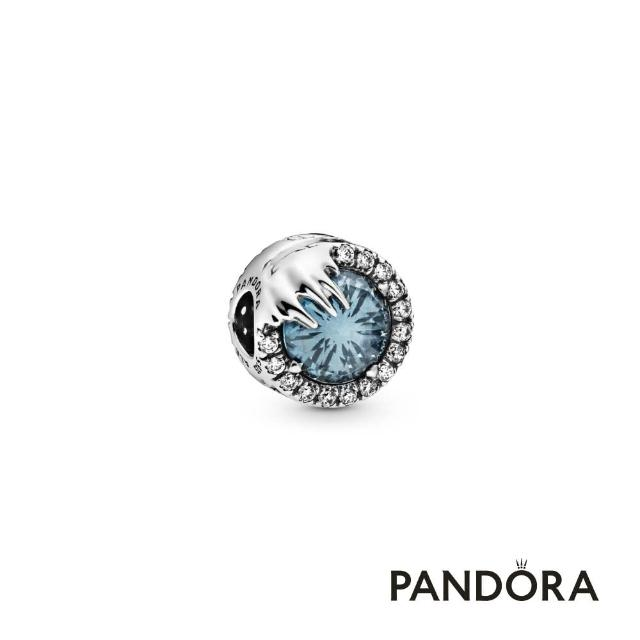【Pandora官方直營】迪士尼《冰雪奇緣 2》冰雪魔法夜空藍水晶串飾