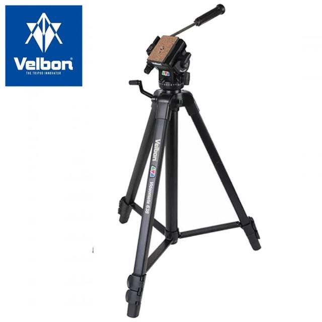 【Velbon】Videomate 638 攝影家系列 油壓雲台三腳架(公司貨)
