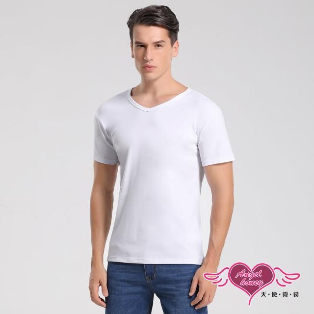 【Angel 天使霓裳】簡約時尚 短袖彈性透氣運動上衣 內搭T恤 健身(白M-2L)