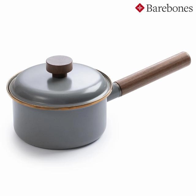 【Barebones】琺瑯單柄鍋 Enamel Saucepan CKW-377(鍋具、湯鍋、露營炊具)
