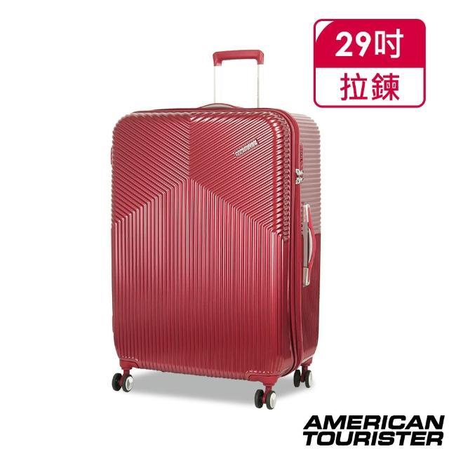 【AMERICAN TOURISTER 美國旅行者】大容量 行李箱 旅行箱 輕量 29吋 DL9 飛機輪 防爆拉鏈 100%PC材質