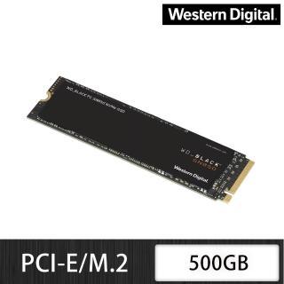 【Western Digital】黑標 SN850 500GB M.2 NVMe PCIe 固態硬碟+【LINE MUSIC】FUN 365天禮物卡(鈴聲方案)