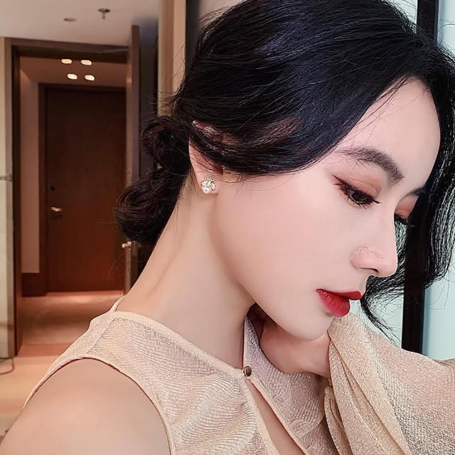 【MYDRESS】南大門熱銷珍珠蜜蜂耳針(時尚百搭)