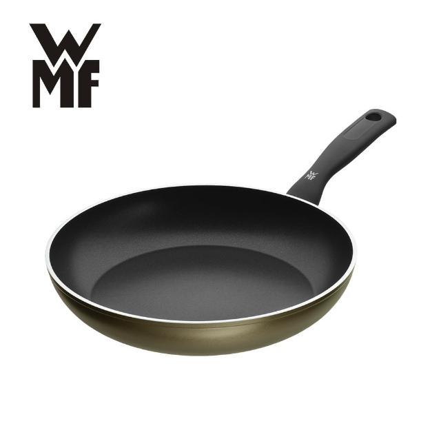 【德國WMF】PERMADUR義大利製不沾平底煎鍋28cm(贈竹製砧板38x25cm)