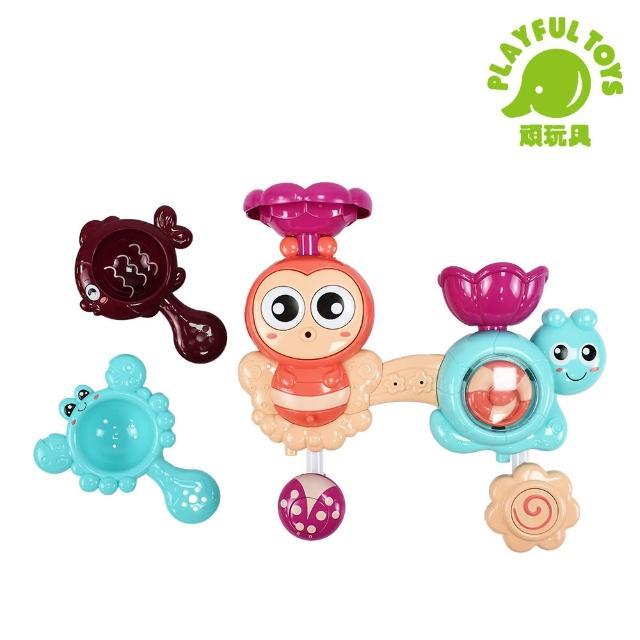 【Playful Toys 頑玩具】蜜蜂蝸牛轉轉樂(寶寶浴室遊戲)