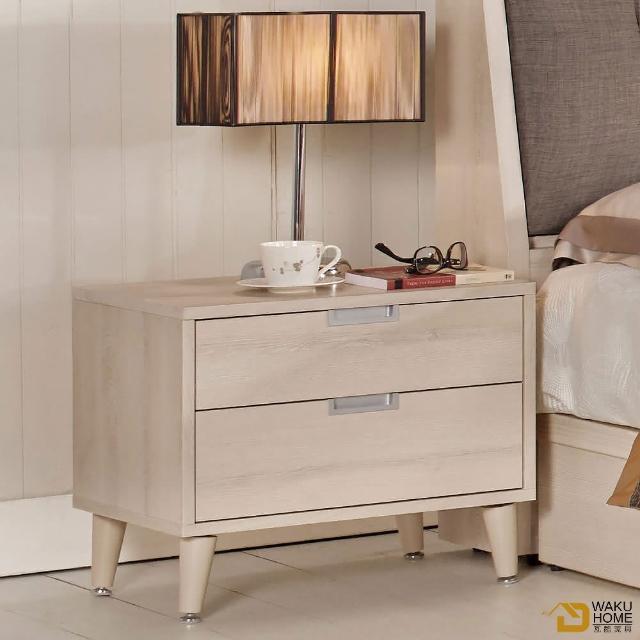 【德泰傢俱】Ailsa簡約清新1.8尺床頭櫃A002-581-6