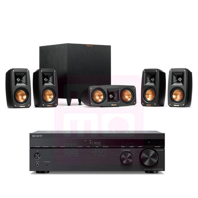 【SONY 索尼】STR-DH790+Reference Theater Pack(7.2聲道擴大機+Klipsch 5.1聲道劇院組/5.0家庭影院喇叭)