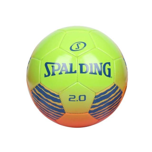 【SPALDING】2.0#5號足球-運動 5號球 斯伯丁 紅橘藍綠(SPA64951)