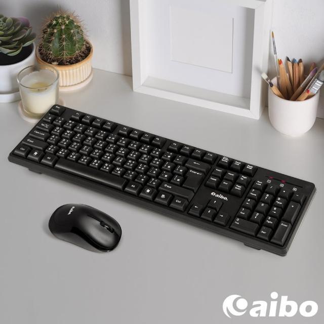 【aibo】KM13 2.4G 無線鍵盤滑鼠組