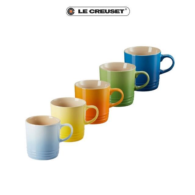 【Le Creuset】英式馬克杯350ml五入組