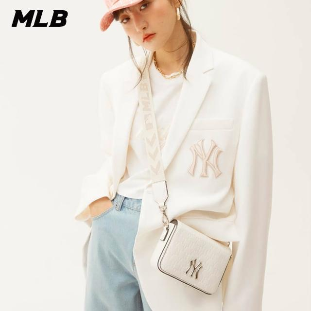【MLB】老花斜背包 Monogram系列 肩背包 紐約洋基隊(32BGPB111-50I)
