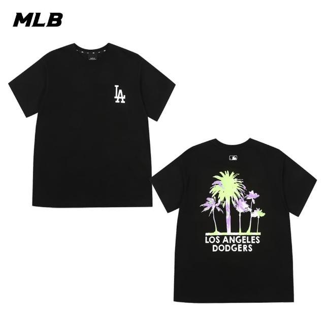 【MLB】短袖T恤 棕梠樹圖案 洛杉磯道奇隊(31TSX1131-07L)