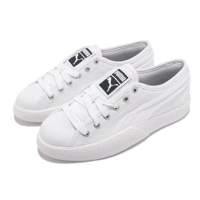 【PUMA】休閒鞋 Love Canvas 板鞋 女鞋 帆布鞋 穿搭 基本款 白(37241101)