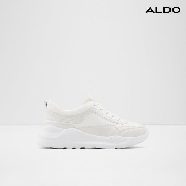 【ALDO】素色增高綁帶休閒鞋-女