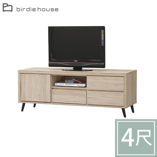 【柏蒂家居】樂芙4尺一門三抽電視櫃/視聽櫃