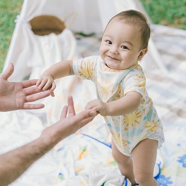 【NEW STAR】MIT100%純棉小太陽寶寶嬰兒包屁衣(人氣推薦 台灣製造 透氣 純棉)
