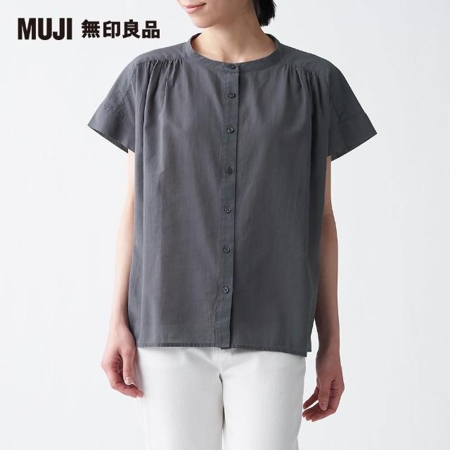 【MUJI 無印良品】女有機棉水洗強撚法式袖套衫(共6色)