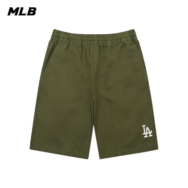 【MLB】休閒短褲 基本款 素色 洛杉磯道奇隊(31SMU1131-07K)