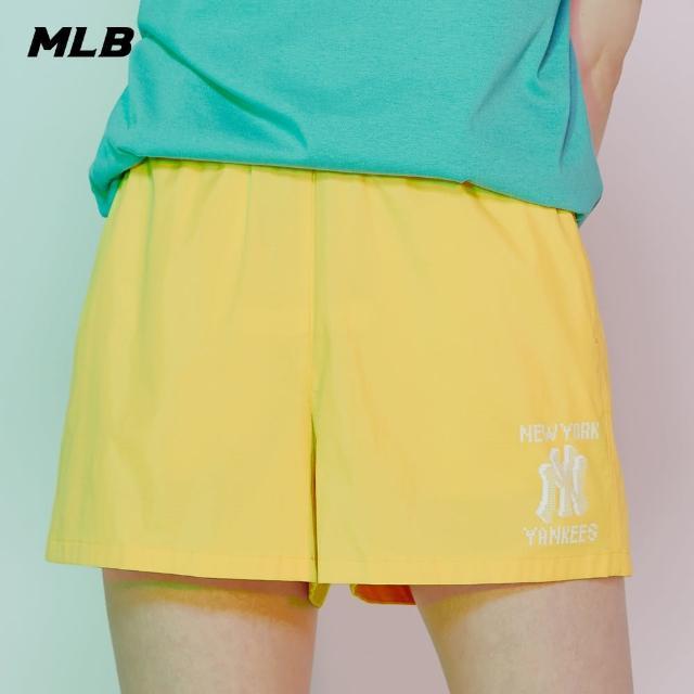 【MLB】尼龍短褲 休閒褲 Play像素系列 紐約洋基隊(31SMW4131-50D)