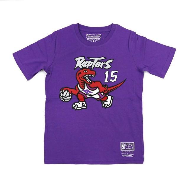 【NBA】M&N NBA 青少年 N&N 短袖上衣 暴龍隊 #15 Vince Carter(WN2B7BMR0-RAPVC)