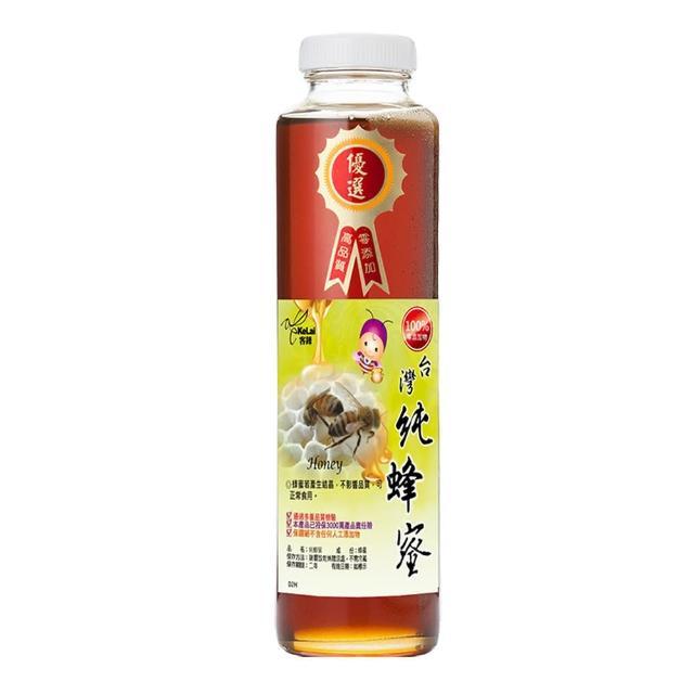 【客錸】優選台灣純蜂蜜(820gx1入)