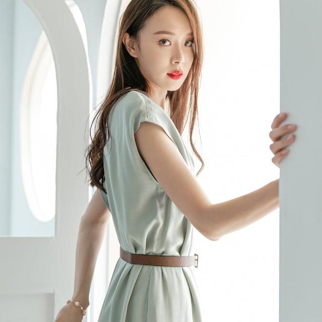 【KEZZA】氣質純色洋裝