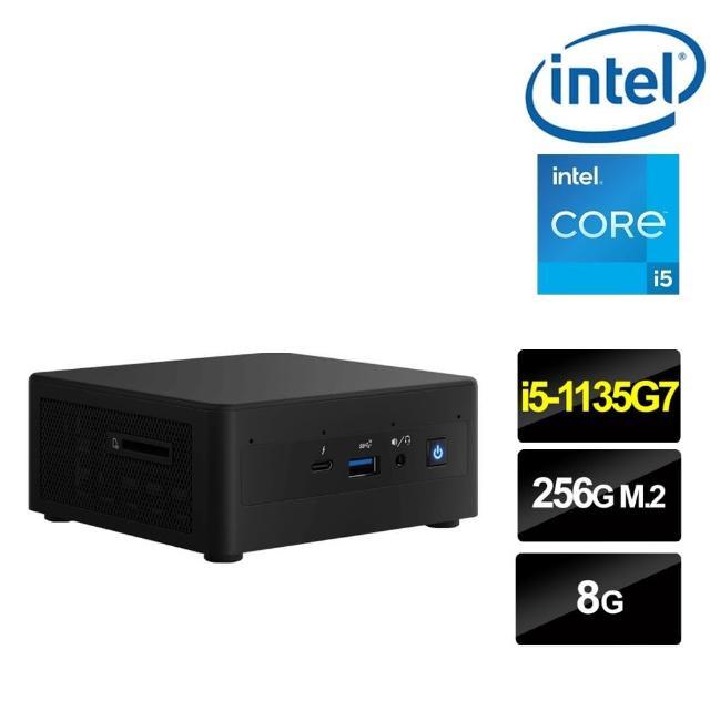 【Intel 英特爾】NUC平台i5四核{鬼神祭司II} 迷你電腦(i5-1135G7/8G/256G M.2 PCIe SSD)