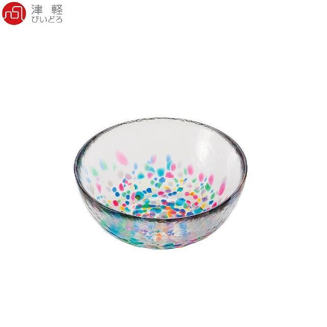 【ADERIA】日本津輕 手作睡魔玻璃碗 DF-71240(玻璃碗)