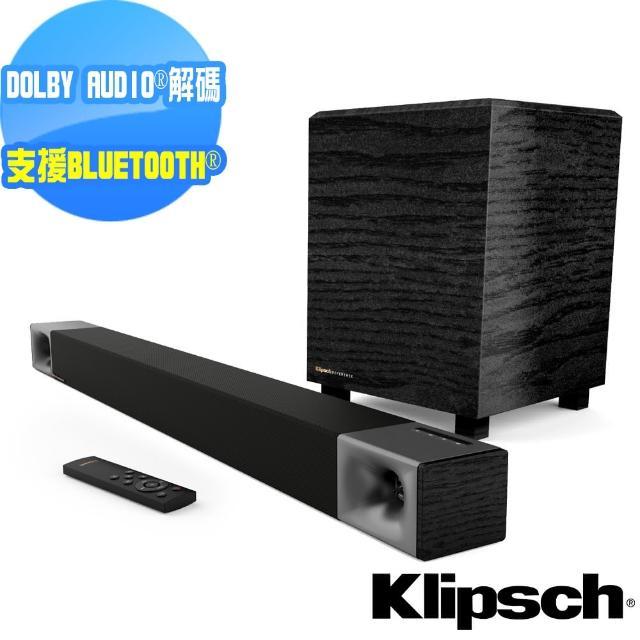 【Klipsch】2.1聲道 無線超低音聲霸 家庭劇院組 Cinema 400(送清淨機AP-002+光纖線)