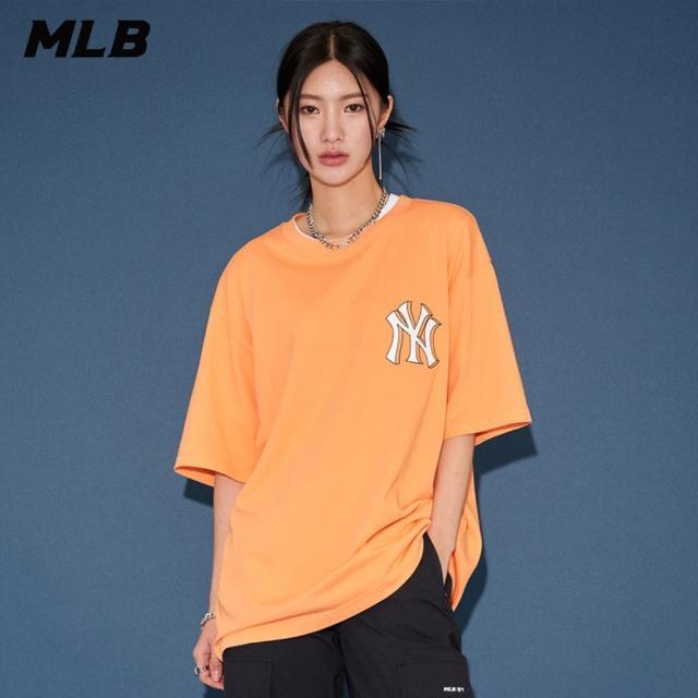 【MLB】短袖T恤 標籤系列 Price Tag 紐約洋基隊(31TST1131-50O)
