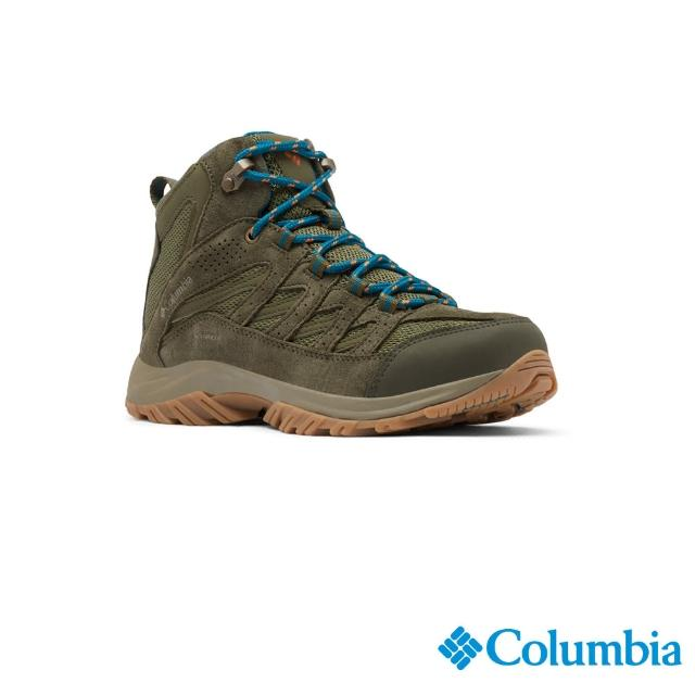 【Columbia 哥倫比亞】女款- Omni-Tech 防水健走鞋-抹茶綠(UBL53710MI / 防水.運動.靴子)