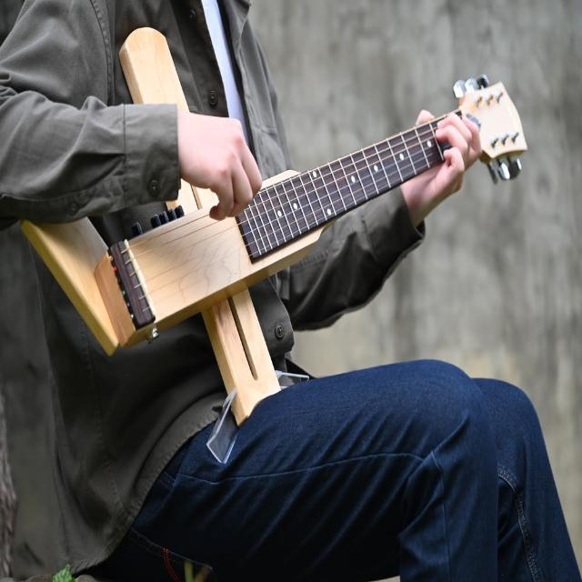 【好哲琴二代】Cross Guitar 2.0 拾音器版折疊靜音旅行木吉他(民謠/古典/多國專利/台灣設計製造)