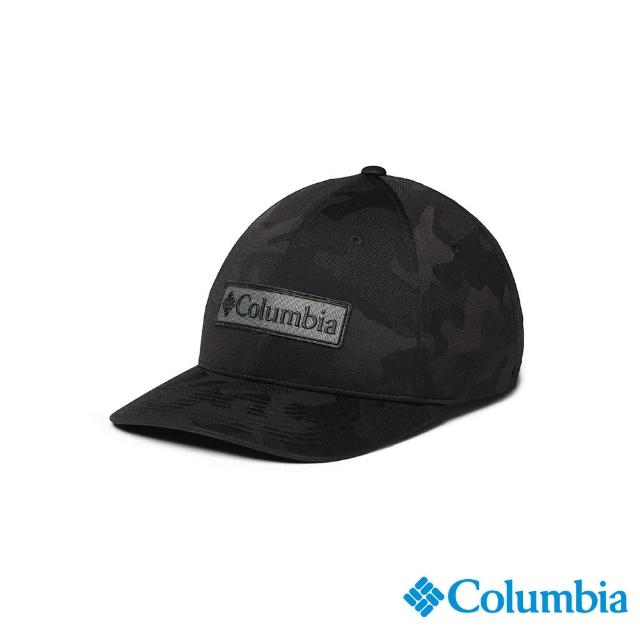 【Columbia 哥倫比亞】男女款-LOGO棒球帽-深灰(UCU01590DY / 抗UV.快排.涼感)