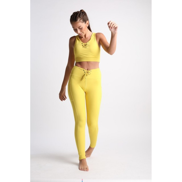 【Flexi Lexi】Yellow Mellow Flexi Pants(多功能機能瑜珈褲)
