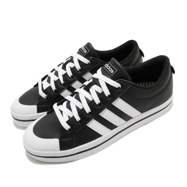【adidas 愛迪達】休閒鞋 Bravada 滑板鞋 男鞋 愛迪達 皮革鞋面 低筒 穿搭推薦 黑 白(FW2888)