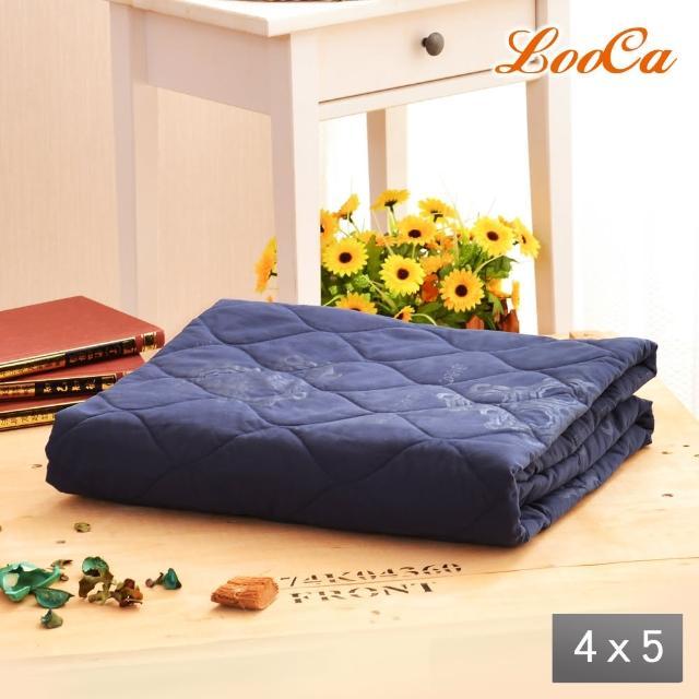 【LooCa】石墨烯抗菌涼被4x5尺-1入(2款任選-618限定防疫好眠)