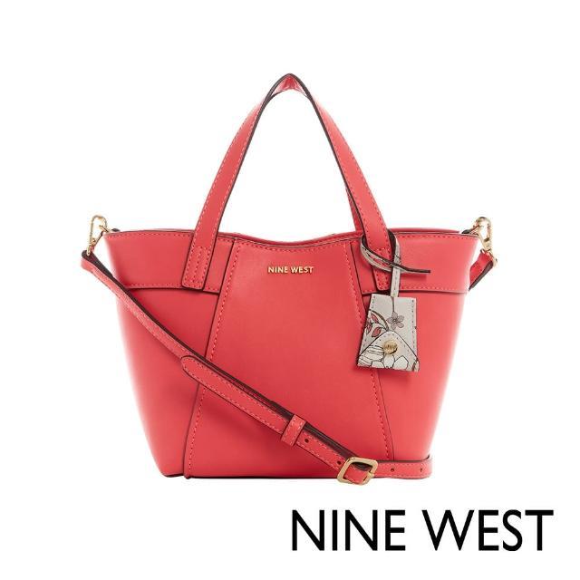 【NINE WEST】SUNNYSIDE經典MINI水餃包-珊瑚紅(118675)
